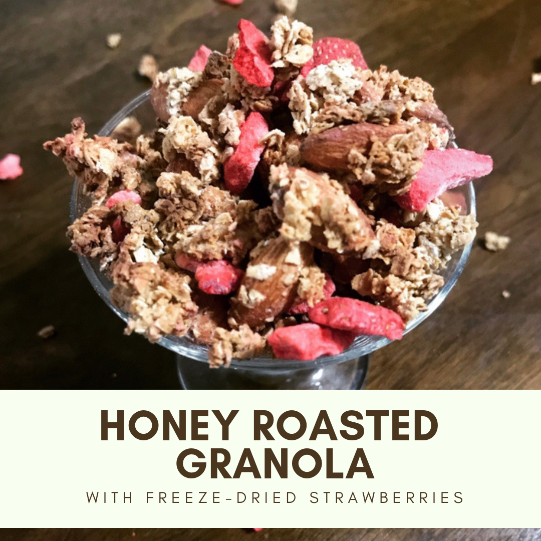 honey roasted granola
