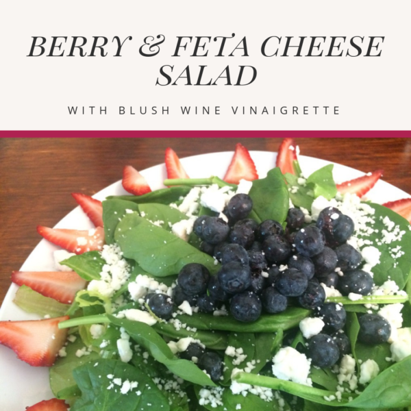berry and feta cheese salad