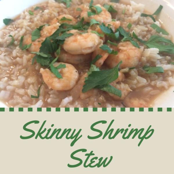 skinny shrimp stew