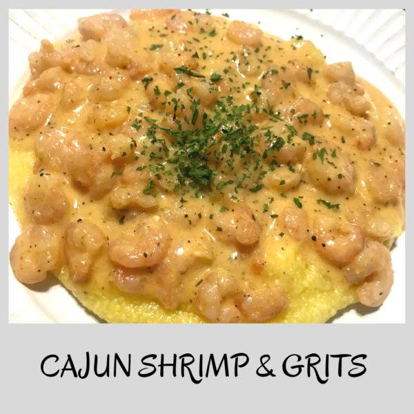 CAJUN SHRIMP AND PASTA