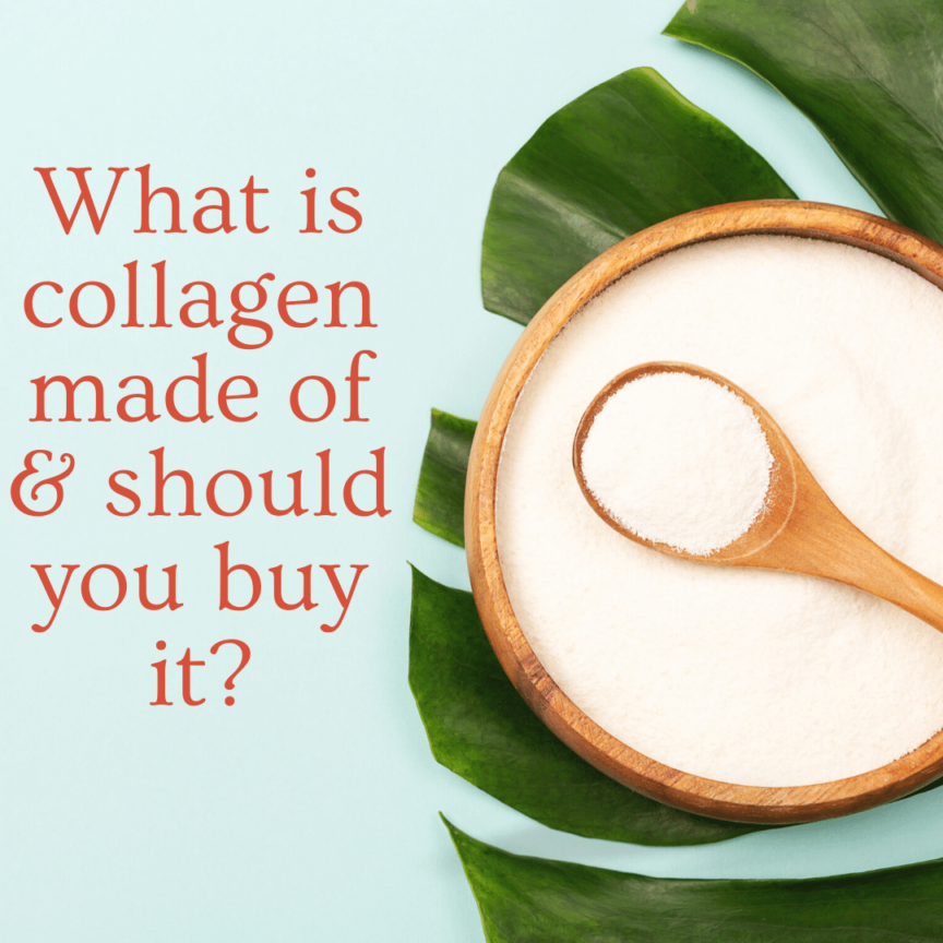what is collagen made of