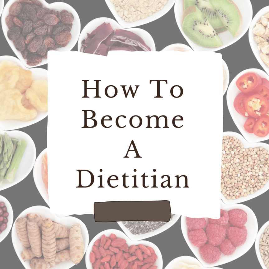 how to become a dietitian